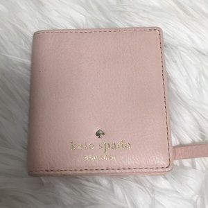 Kate Spade Small Stacy Wallet- light pink